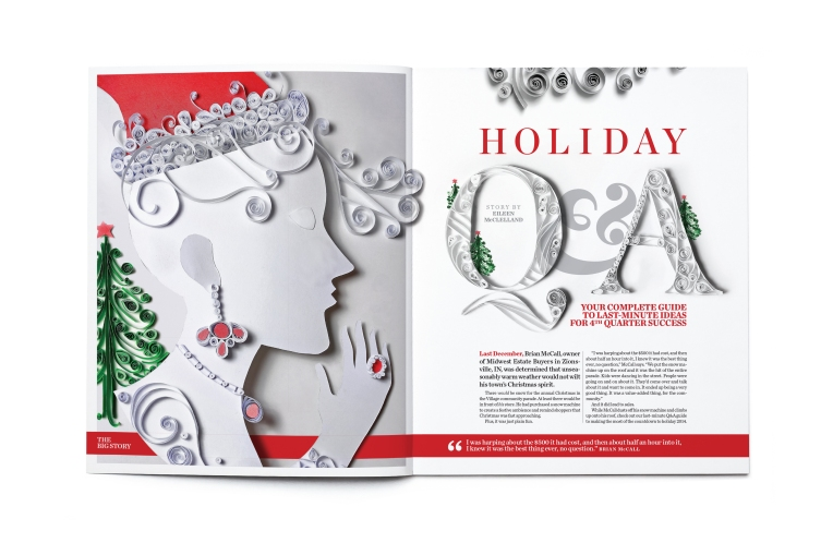 INSTORE MAGAZINE November 2014 Feature Story Opening Spread